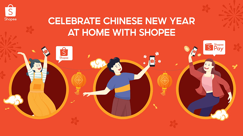 Shopee announces Chinese New Year deals to help celebrate at home