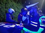 Polres Samosir Tindak Sejumlah Pengendara Motor Berknalpot Brong