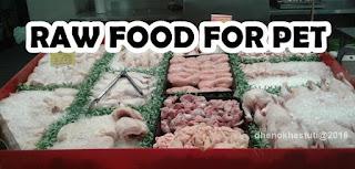 Raw feeding/ makana mentah kucing