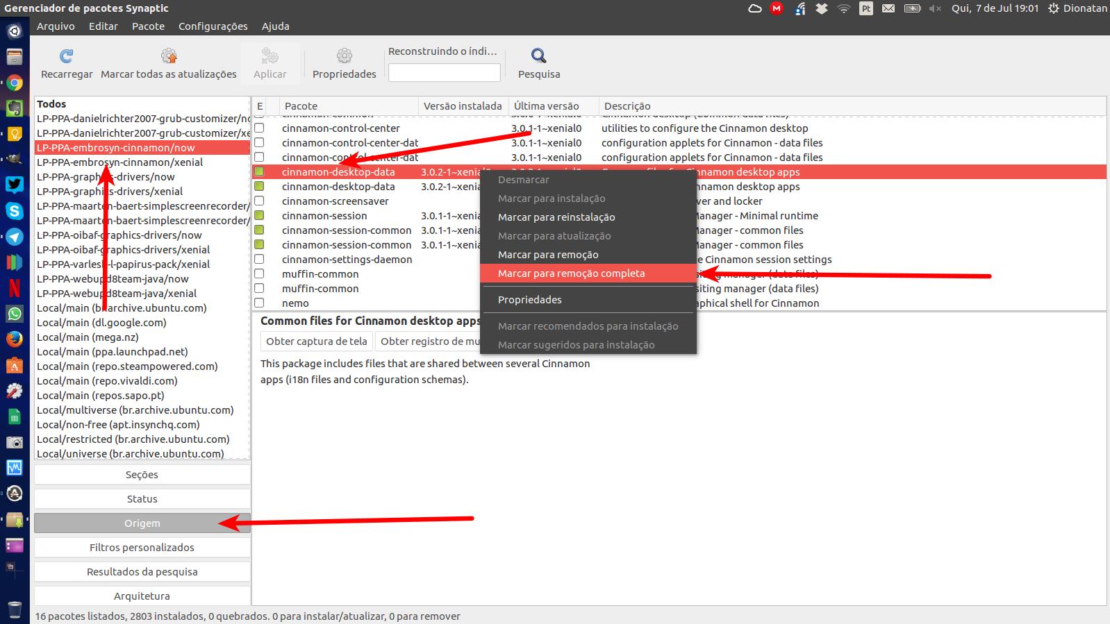 Como remover programas instalados via PPA no Ubuntu