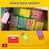 CAIXA PARA SPRAYS #ficaadica