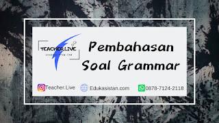Pembahasan Soal Grammar