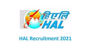 HAL Recruitment 2021