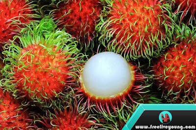 5 Benefits of Rambutan Fruit For Health