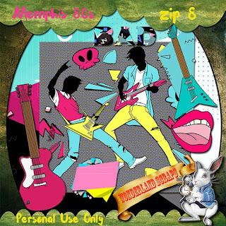 Memphis 80s freebie - music is always important