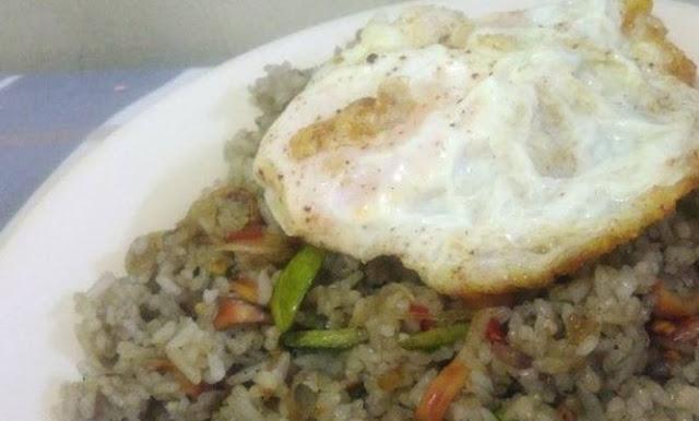 cara membuat nasi goreng cumi asin pete