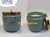 Logo Vinci gratis 4 candele al profumo di abbracci calorosi