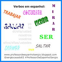 verbos em espanhol, Verbos espanhois em presente: ver, vivir, estudiar e hacer, conjugaçoes, dicas de espanhol, aprender espanhol, espanhol