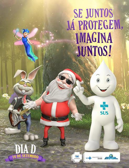 """Sábado 16/09 é Dia """"D"""" da Campanha de Multivacinação de Crianças e Adolescentes"""