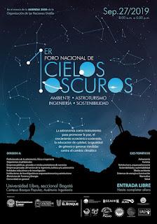 1er Foro Nacional de Cielos Oscuros en Bogotá
