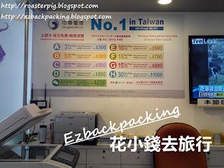台中機場 中華電信上網卡