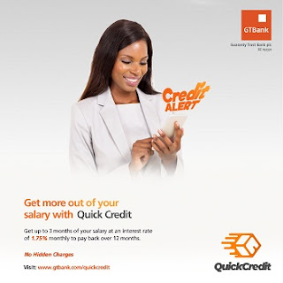 How To Get Quick Credit Loan from GTBank without any Hidden Collateral