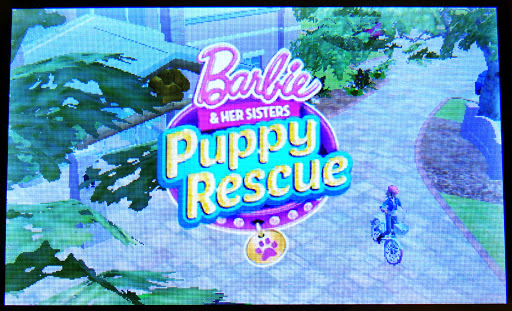 Barbie game, Puppy Rescue, video games for girls