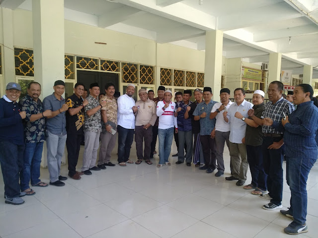Bupati Bersama Ketua DPRD dan Kapolres Bone Antar Langsung Bantuan Korban Gempa dan Tsunami For Donggala - Palu