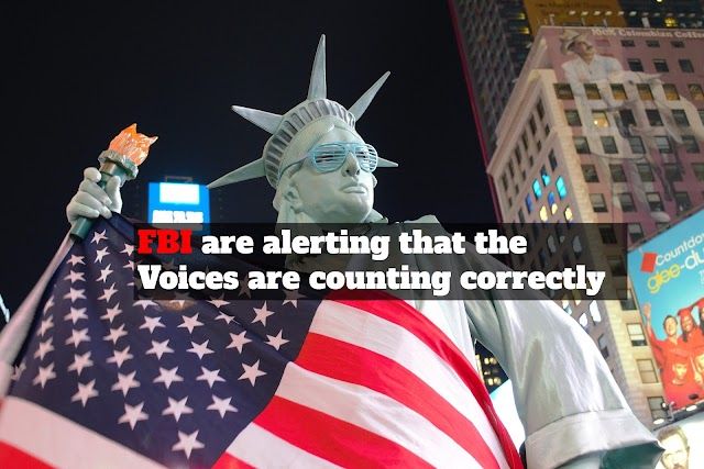 The approaching presidential elections in the United States and the FBI are alerting that the Voices are counting correctly
