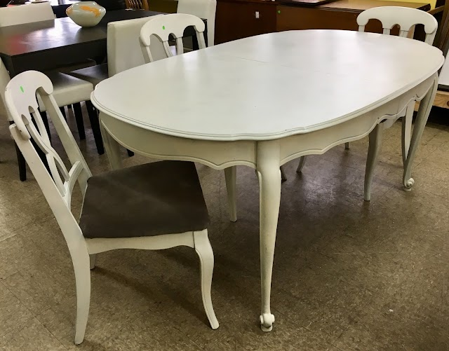Table & 3 Chairs - $75