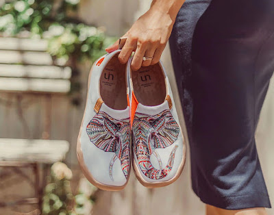 Shoeography: Art and Travel Meets Fashion with UIN Footwear