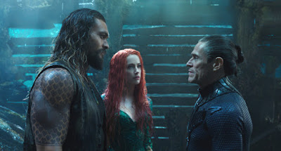 Aquaman -  Jason Momoa, Amber Heard, and Willem Dafoe