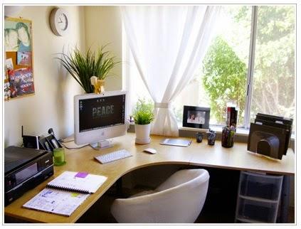 A mi manera c mo decorar oficinas for Como decorar una oficina pequena