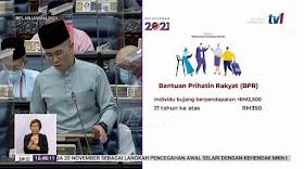 Belanjawan 2021: Senarai Jumlah Bantuan Prihatin Rakyat Mengikut Kategori