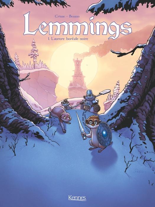 Lemmings - L'aurore boréale noire - Tome 1