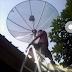 Pasang parabola jaring Venus TV Muslim di Buah Batu Bandung