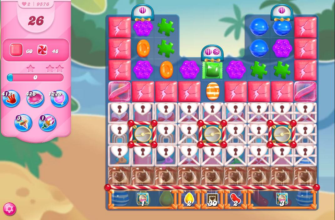 Candy Crush Saga level 9576