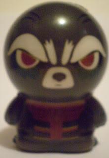 Front of Rocket Raccoon Foamie