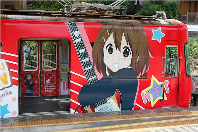 k-on! tren evento ultimo día