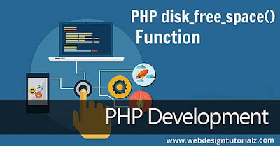 PHP disk_free_space() Function