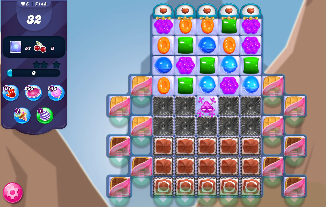 Candy Crush Saga level 7148