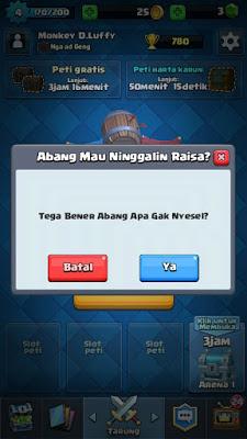 merubah bahasa clash royale menjadi bahasa indonesia
