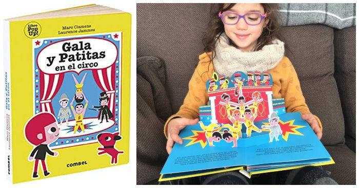 Cuentos infantil regalar navidades 3 a 5 años Gala Patitas circo Combel