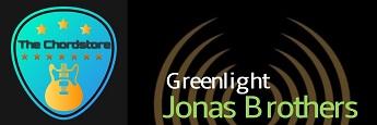 Jonas Brothers - Greenlight Guitar Chords (Songland)