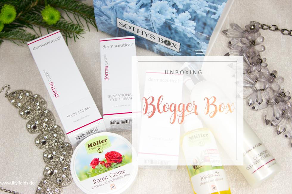 Blogger Club Box - Sothys Box, dermaceutical, Drogerie Müller