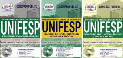 Apostila Concurso UNIFESP 2018 - Universidade Federal de São Paulo