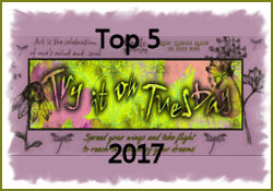 March 2017 Top 5 at TIOT