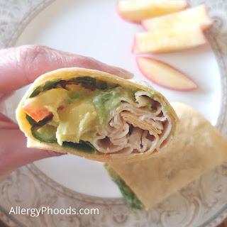 flexible gluten free wrap meal