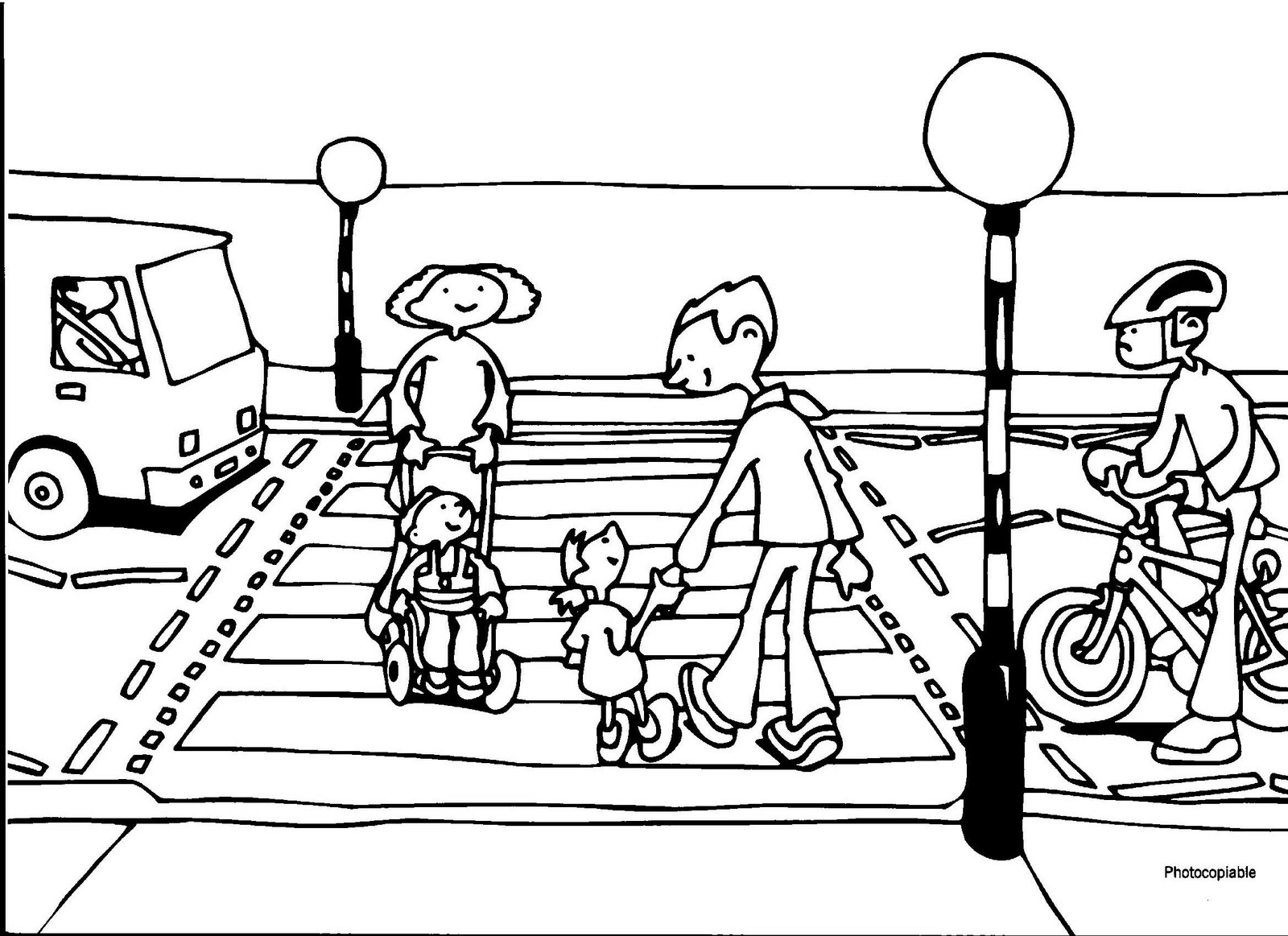 Road Crossing Clipart Black And White Shepshed Toy Library Road Safety Sessions