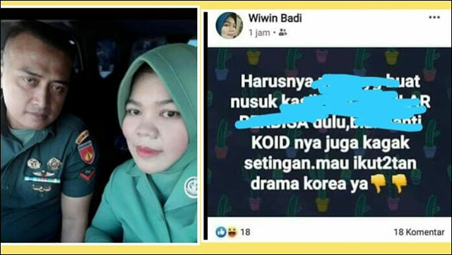Istri Nyinyir ke Wiranto, Anggota Kodim Wonosobo juga Ditahan