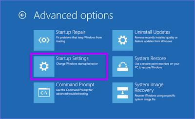 Langkah 6 Masuk Safe Mode Windows 10 Secara Paksa