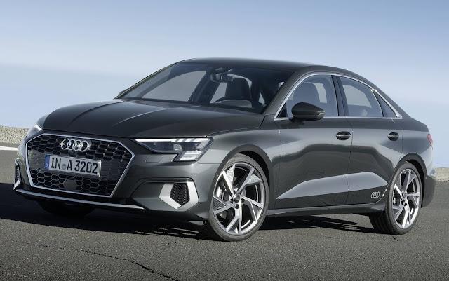 Novo Audi A3 Sedan 2021