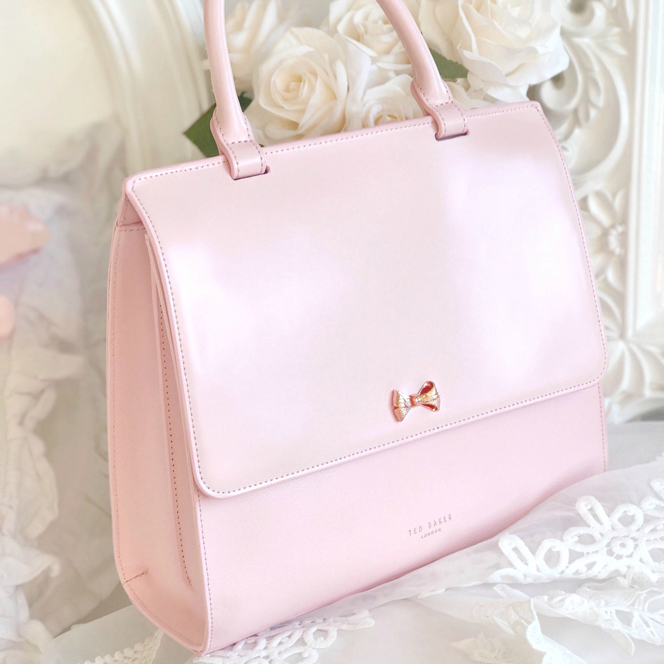 What I Got For Christmas 2016 | Ted Baker Pale Pink Otillia Bag
