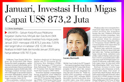 January, Upstream Oil and Gas Investment Reaches The US $ 8732 Million