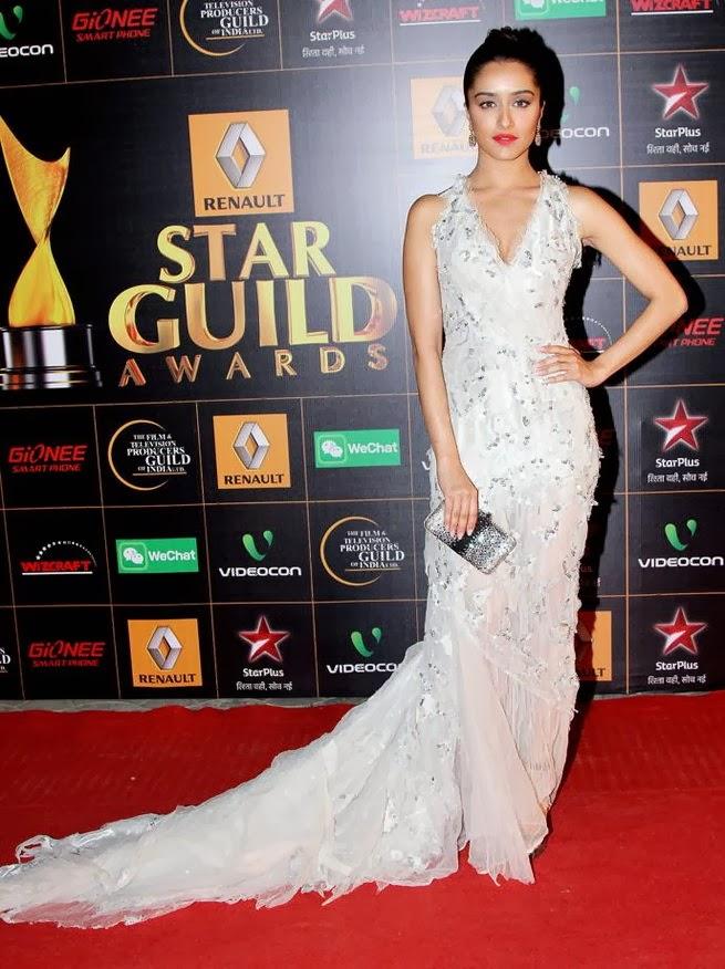 Shraddha Kapoor Star Guild Awards Red Carpet