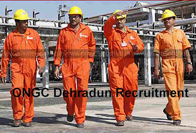 ONGC Dehradun Recruitment