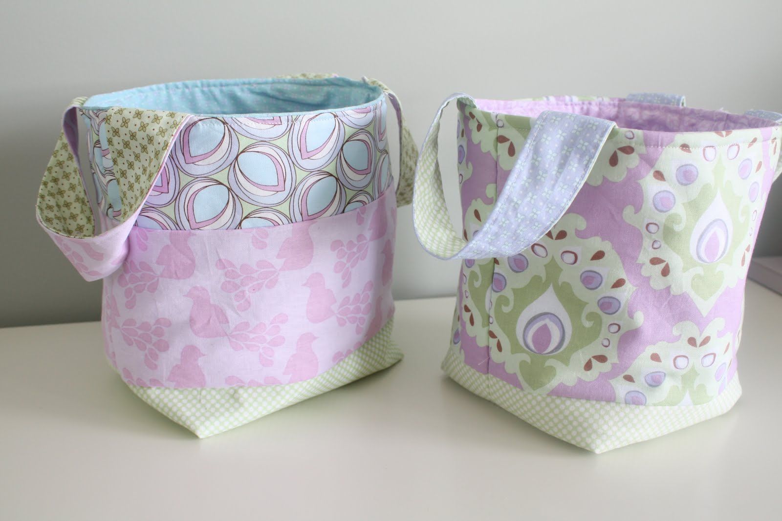 ... Design - Calgary Design and Lifestyle Blog: {diy} fabric basket