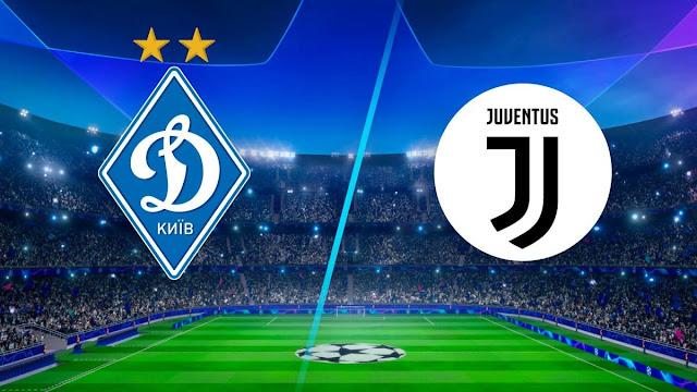 مباراة يوفنتوس ودينامو كييف دوري أبطال أوروبا بث مباشر