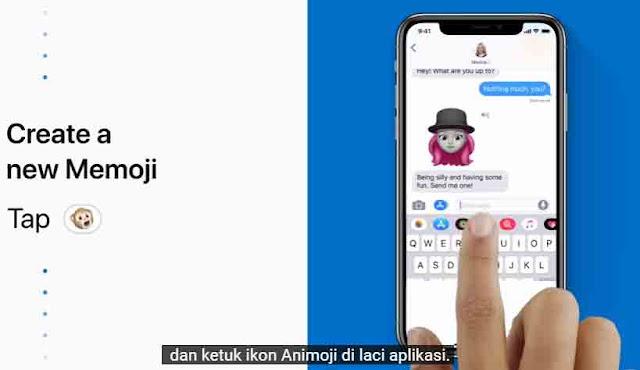 cara membuat memoji iphone 01