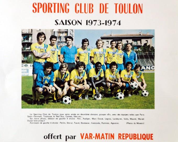 S.C TOULON 1973-74